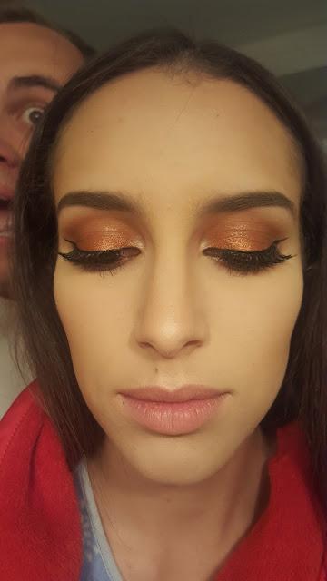 2 Year Anniversary Makeup Look (Minus Lipstick)