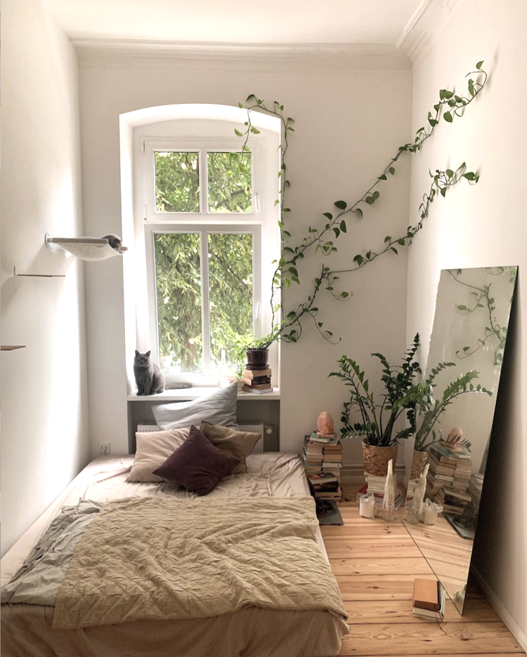 Tina's Relaxed, Boho Home Full of Plants & Cats!