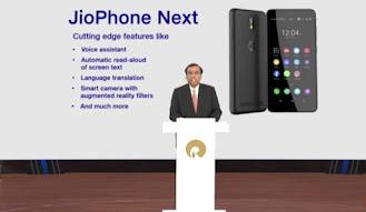 Image of Jio Phone Next