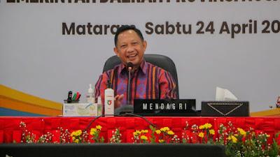 Tito Karnavian Puji Penanganan Covid-19 di NTB