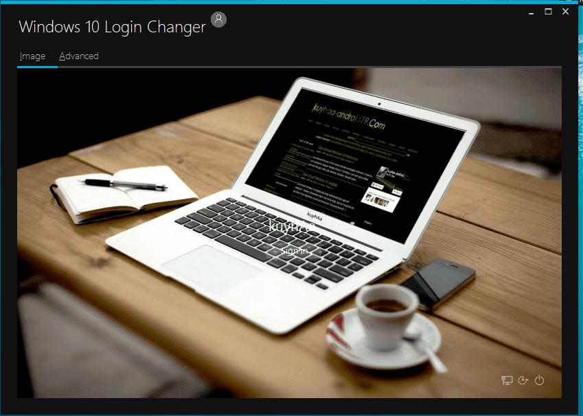 Windows 10 Login Theme Changer 1.0 Latest 2015