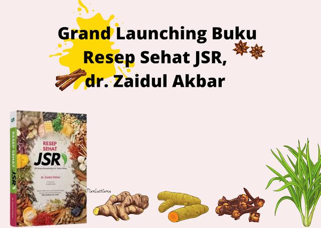 Buku resep JSR Zaidul Akbar