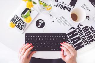 A blogger