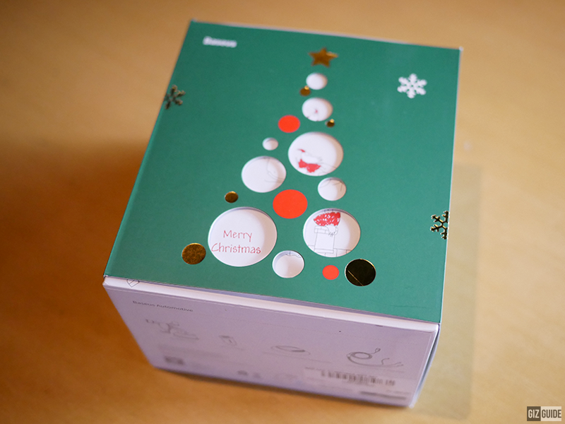 Baseus Philippines released a Christmas Car Accessories Gift Set for PHP 1,290 only