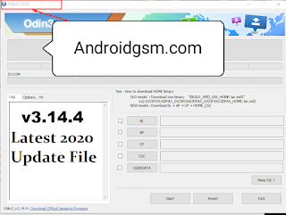 How To Download Odin3 v3.14.4 Samsung USB Flashing Custom ROM Latest Tool Original Free Download To Androidgsm