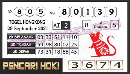 Prediksi Pencari Hoki Group Hk Rabu 29-Sep-2021