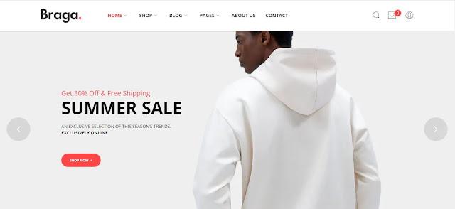 Braga v1.0.3 – Fashion WordPress Theme Premium