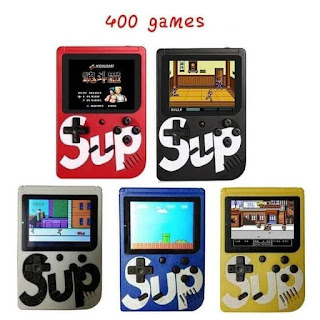 Gameboy Retro FC 400 Games Console Game Mini Gamepad 2 Player Single - 1 PLAYER