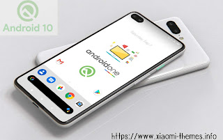 Android 10 or Q theme in any mobiles