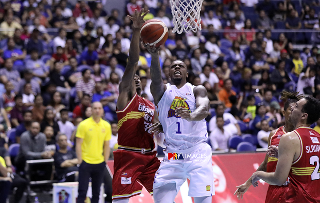 Terrence Jones outdueled Justin Brownlee and Barangay Ginebra