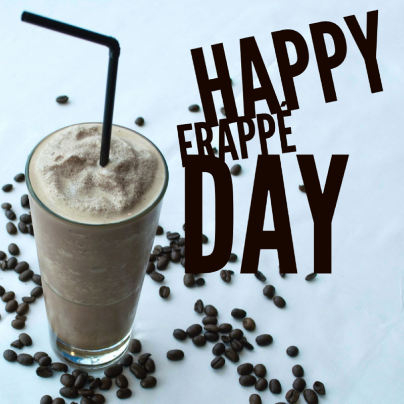 National Frappe Day Wishes Images download