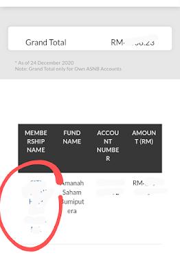 transfer wang daripada Maybank ke ASNB