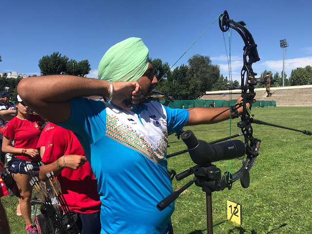 World Junior Archery Championship gold medallist Sukhbeer Singh