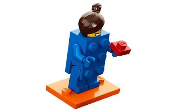Lego Collectible Minifigures Series 18: Blue Brick Character