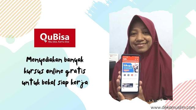 kursus online gratis di qubisa