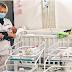 100 bebés atrapados en el salón de un hotel