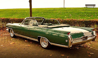 1964 Cadillac Eldorado Convertible Rear Side