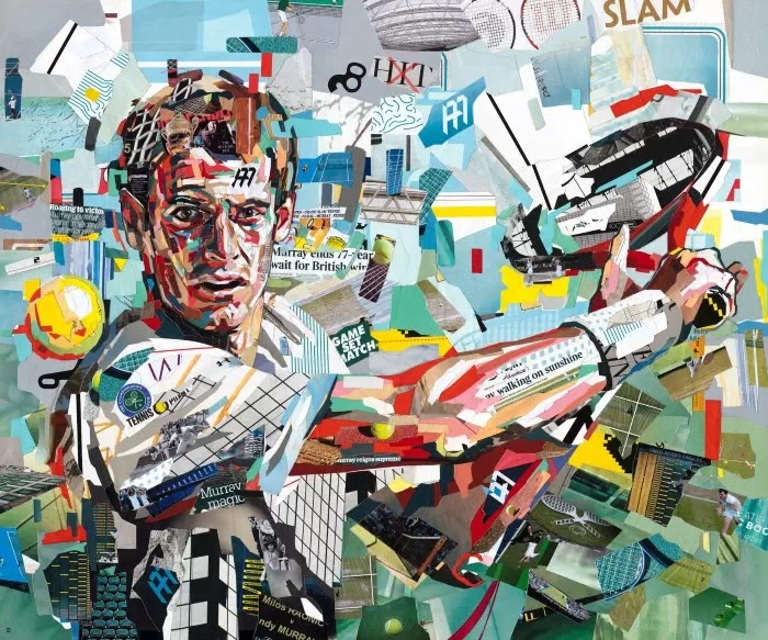 Британский художник-коллажист. Patrick Bremer, коллаж