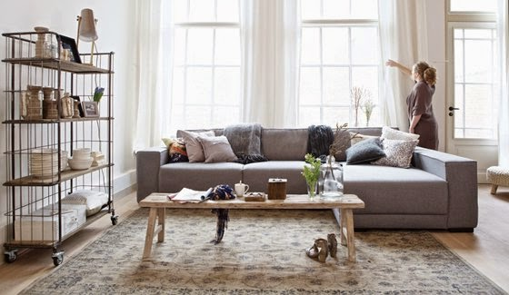 Binnenkijken Marieke Rusticus : Marieke rusticus styling: looking for the right rug