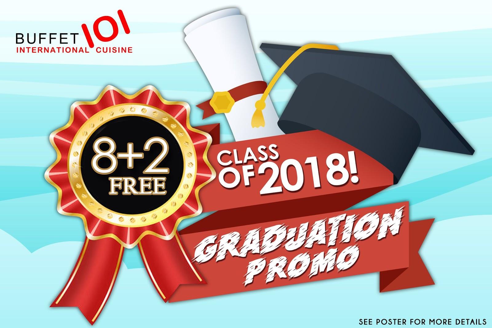 Manila Shopper: Graduation 2018 Blowout Promos