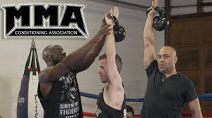 mma fighters kettlebell