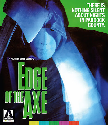Reverse cover art for Arrow Video's Blu-ray of EDGE OF THE AXE!
