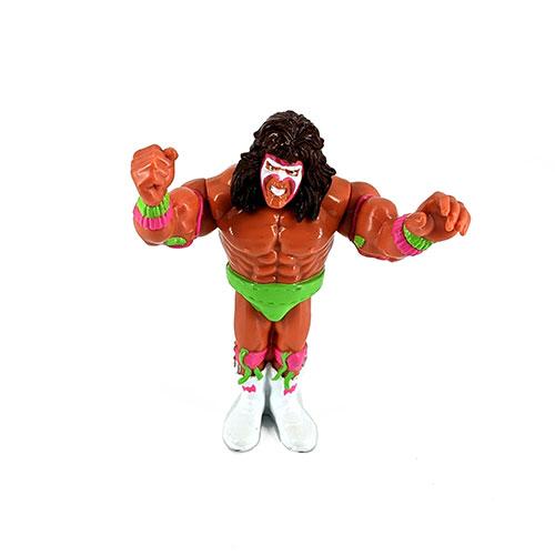 Figura Presing Catch WWF El último guerrero 1990