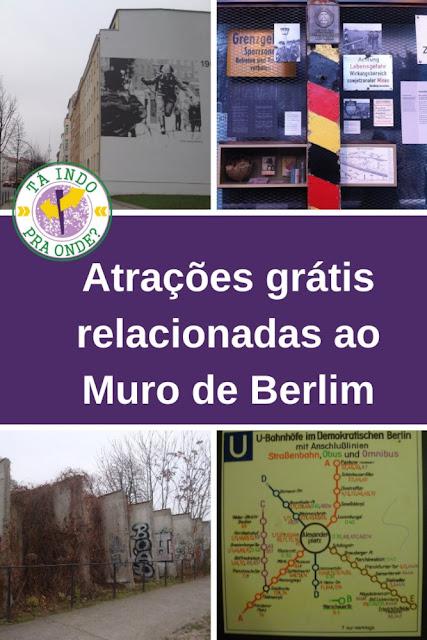 4 atrações gratuitas relacionadas ao muro de Berlim e Alemanha oriental/socialista