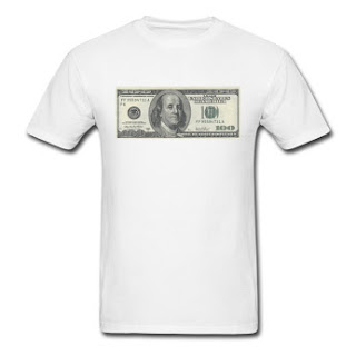 One Hundred Dollars T-Shirt for $20