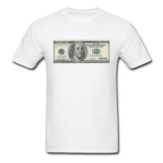 One Hundred Dollars T-Shirt for $20