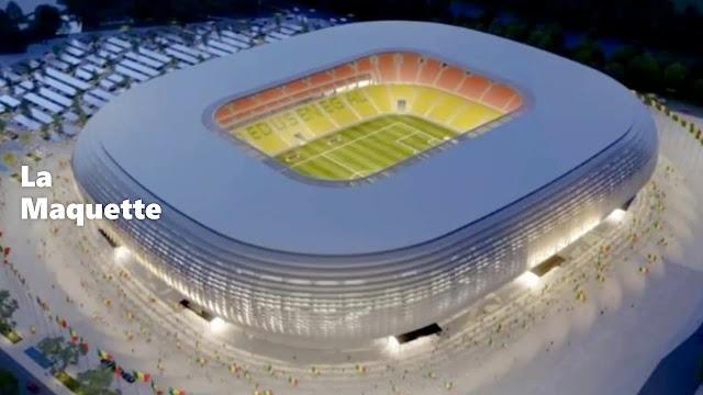 Le stade olympique de Diamniadio, un véritable joyau : Projets, construction, architecture, stade, olympique, Diamniadio, développement, sport, jeux, foot, place, coupe, LEUKSENEGAL, Dakar, Sénégal, Afrique