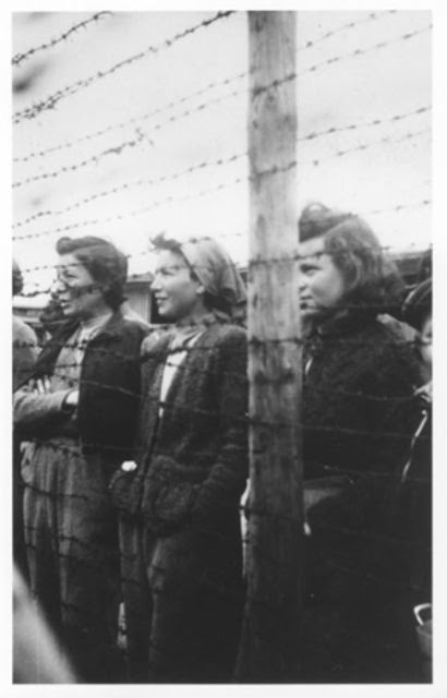 Female prisoners at Mauthausen during World War II worldwartwo.filminspector.com