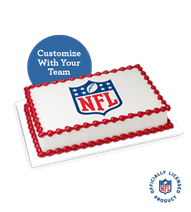 Surprise football fans with Baskin-Robbins Football Cake,NFL Cake