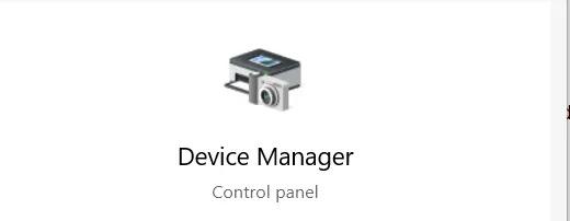 Windows لا يستجيب إدارة الأجهزة