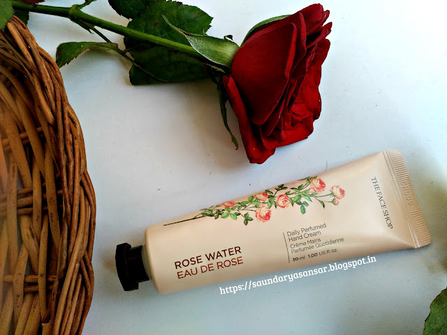 The Face Shop Rose Water Daily Perfumed hand cream Review