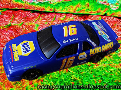 Stub Fadden #16 NAPA Buick Racing Champions 1/64 NASCAR diecast blog age