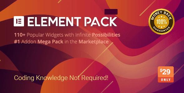 Element Pack v5.7.7 - Addon for Elementor Page Builder