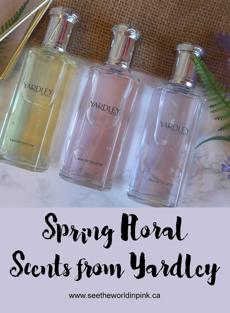 Yardley Spring Floral Scents