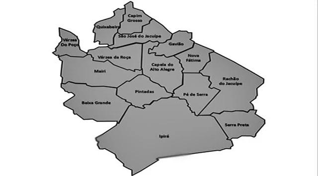 Dos 15 municípios da Bacia do Jacuípe, 8 já tiveram registro de Covid-19