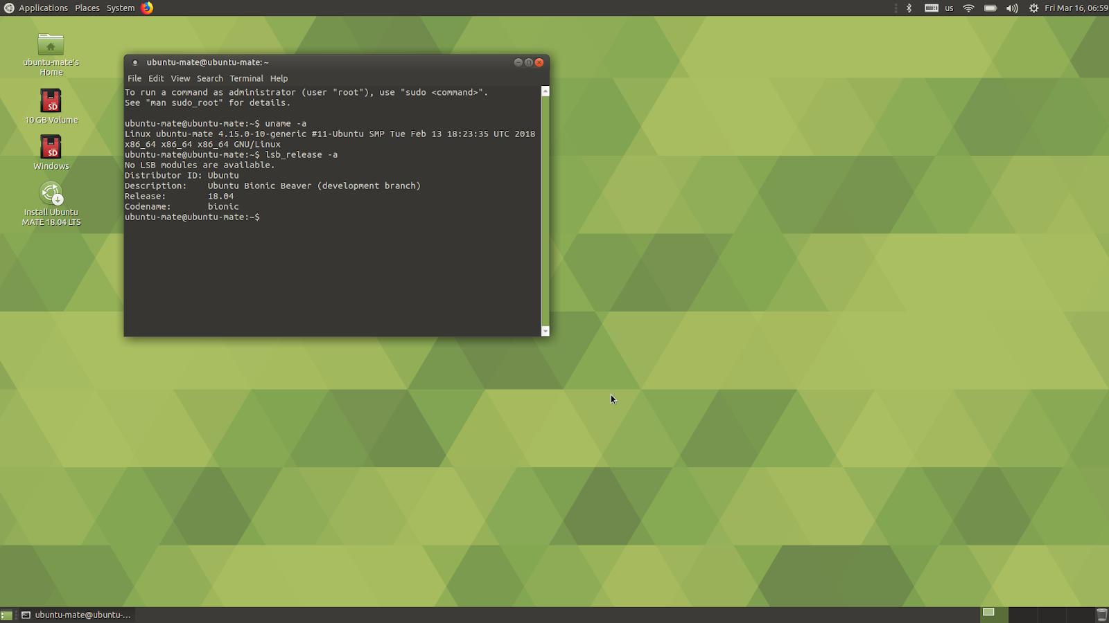 linuxium com au: Third look at Ubuntu 18 04 or Bionic: Beta