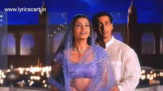Chand Chupa Badal Mein Lyrics-Hum Dil De Chuke Sanam