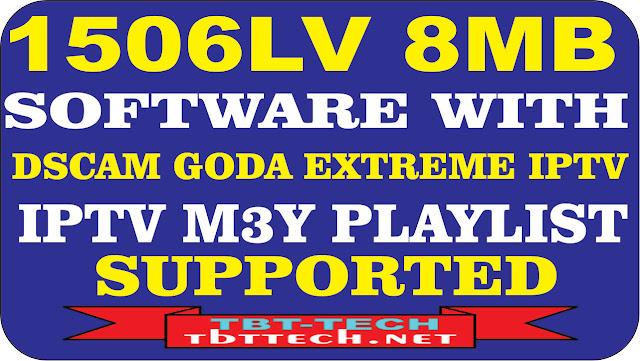 Sunplus 1506LV 8MB  Extrem IPTV M3u Supported