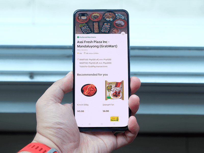 You can now order Korean Groceries thru GrabMart!