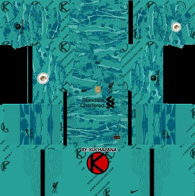 Liverpool FC 2020-21 Nike Kit - DLS2019