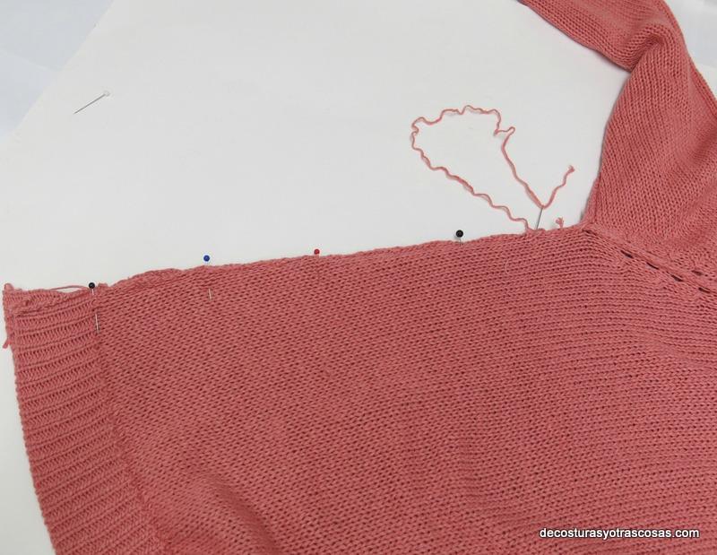 tutorial arreglar un jersey
