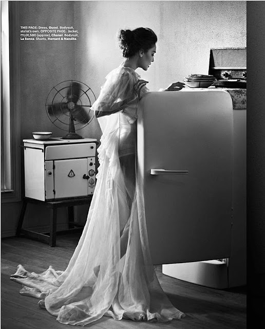 Lisa Haydon In White Instagram Image