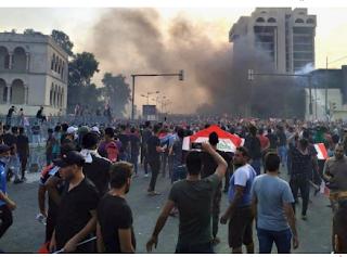رفع حظر المرور في بغداد من صباح السبت
