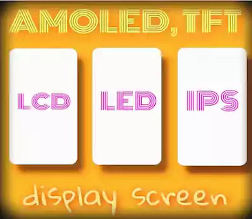 Mobile Display Types - IPS, Retina, and AMOLED in Hindi