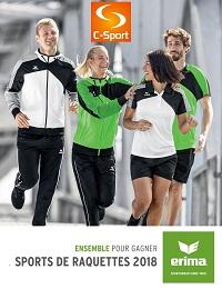 Catalogue Erima Tennis 2018