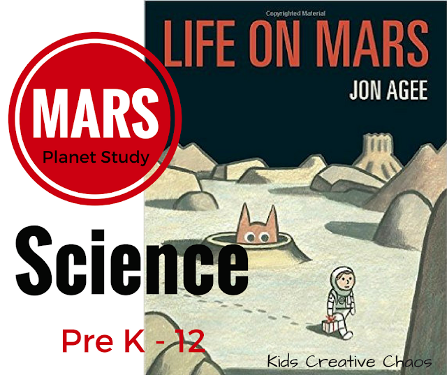 Planet Study: Mars Lesson Homeschool